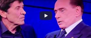 Berlusconi e Morandi risollevano gli ascolti di Fazio (video), il Pd s'infuria