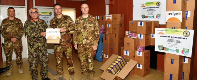 Le Forze Armate italiane donano medicinali alla clinica infantile di Mogadiscio