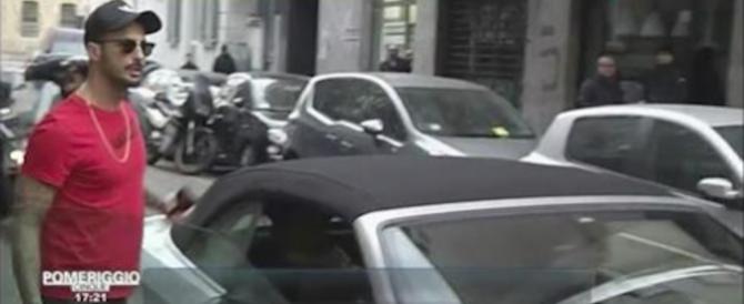 Corona esce dal carcere e litiga subito con Barbara D'Urso (video)