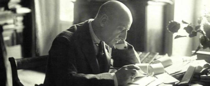 Gli 80 anni della morte di D'Annunzio. Guerri: «È vivo e lotta insieme a noi»