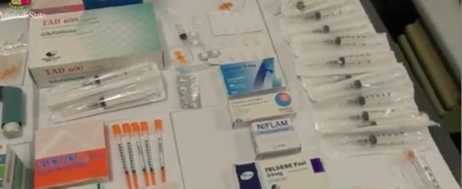 Doping tra i ciclisti dilettanti: in manette i dirigenti della Altopack (video)