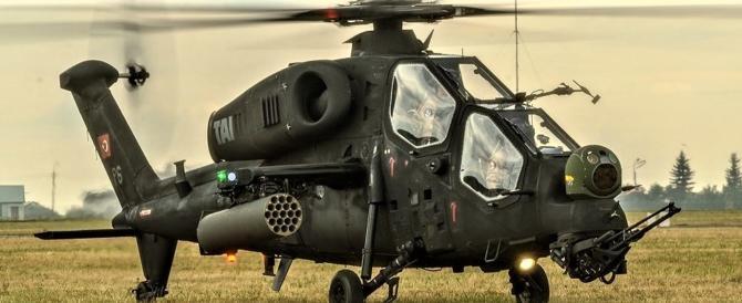 I patrioti siriani si difendono: abbattuto elicottero turco invasore