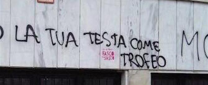 «Morte al fascista, 10, 100, 1000 Acca Larenzia». A Milano anarchici liberi di minacciare…