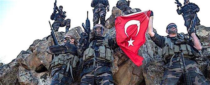 Siria, disperata resistenza dei patrioti curdi all'aggressione militare turca