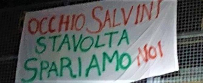 """""""Salvini, stavolta spariamo noi"""". Come mai adesso gli antifascisti tacciono?"""