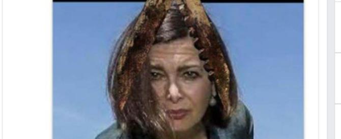 """Un'altra foto horror della Boldrini, l'anonimo subito bollato come """"fascista""""…"""
