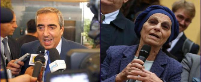 Gasparri: «La Bonino presidente del Senato o premier? Ma per favore…»