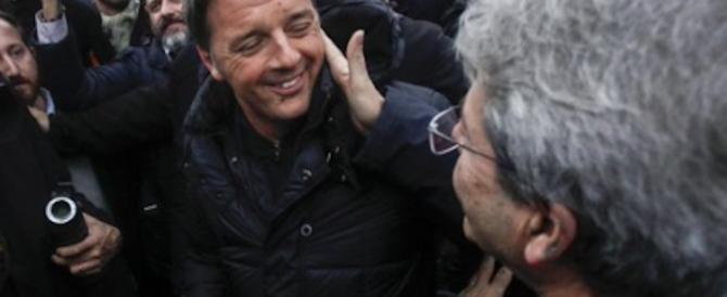 Roma, il corteo antifascista dell'Anpi è un flop. E Gentiloni lo benedice (video)