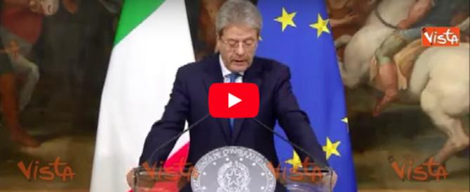 Macerata, da Renzi e Gentiloni toni sobri: serietà o calcolo elettorale?