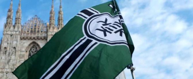 La bandiera del Kekistan sventola a Milano. Fiano e Repubblica impazziscono