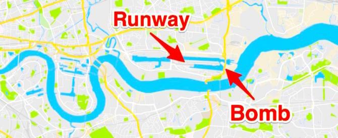 Londra, bomba tedesca inesplosa: evacuato lo scalo di London City