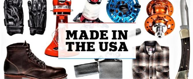 """Trump annuncia: il """"Made in the Usa"""" è tornato e crea posti di lavoro"""