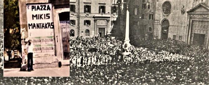 28/2/75: ricordo di Mantakas, ucciso a Roma (video commemorazione)