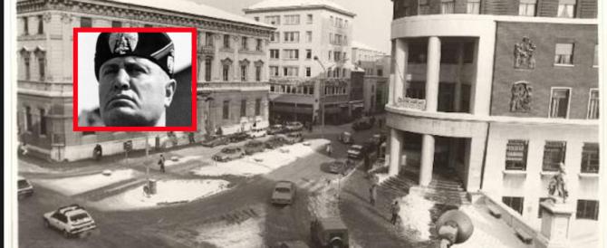 Mantova è piena di opere del fascismo. Ma il Pd revoca la cittadinanza a Mussolini