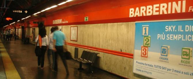 Roma, militare si uccide nel bagno della stazione Barberini della metro