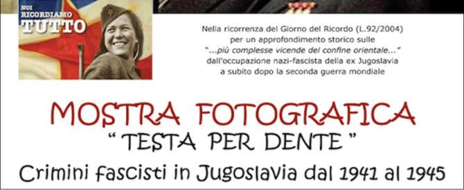 Giorno del Ricordo, a Orvieto l'infamia del revisionismo. Con la benedizione Pd