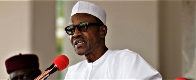 """Il presidente nigeriano ai suoi: """"Non emigrate, c'è da ricostruire il Paese"""""""