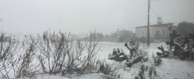 Freddo sull'Italia, arriva la neve, colpirà quasi tutt'Italia (e anche Roma)