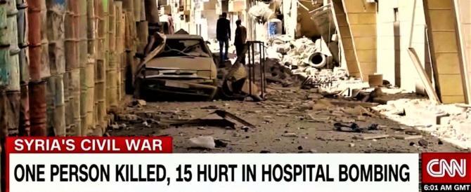 """Quegli strani bombardamenti degli ospedali """"segreti"""" di Msf in Siria"""