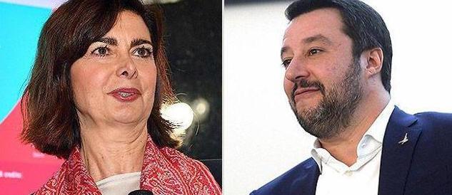 Migranti, Salvini asfalta la Boldrini in diretta tv dalla Gruber (video)