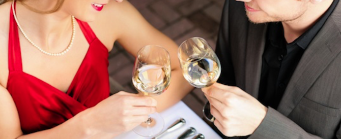 Cena di San Valentino: gli esperti elencano i 10 errori da evitare