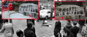 """Oltraggio in via Fani: """"provocazione"""" di sinistra con svastica sbagliata, ecco perché"""