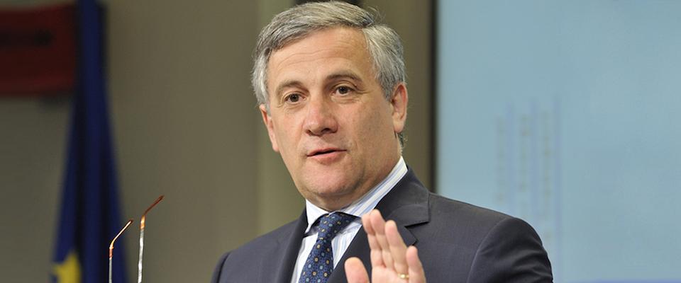 Tajani: «Io premier? Vorrei restare presidente del Parlamento europeo»