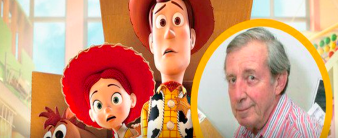 "Cinema in lutto: è morto Bud Luckey, il papà di ""Toy Story"" (video)"