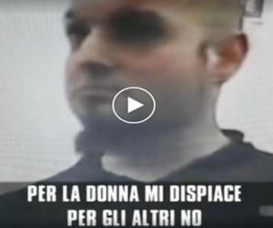 "L'interrogatorio di Luca Traini: ""Per la donna mi dispiace, per gli altri no"" (video)"