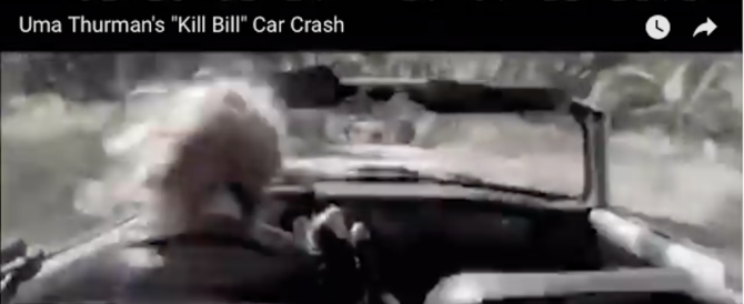 """Uma Thurman e l'incidente sul set di """"Kill Bill"""", Tarantino: «Sono colpevole» (video)"""