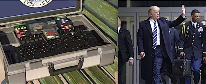Rissa sfiorata per la valigetta nucleare nella visita di Trump a Pechino