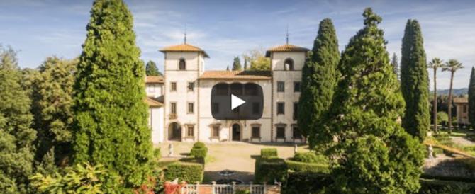 """Venduta la villa dei Frescobaldi per 10 milioni: gli Usa """"comprano"""" la Toscana (video)"""