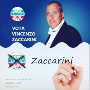 Zaccarini, uno dei candidati all'estero di Fratelli d'Italia (circoscrizione EUROPA)