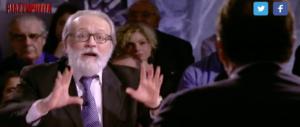"""Becchi furioso contro Cecchi Paone a Piazzapulita: """"Vai a fare in c…"""" (video)"""