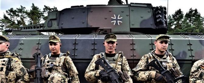 La Merkel aumenta i soldati all'estero, ma loro: non siamo equipaggiati