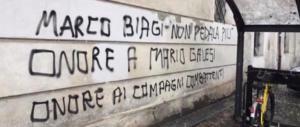 """""""Mille Biagi"""": oltraggio alla memoria del professore. L'ombra delle Br"""