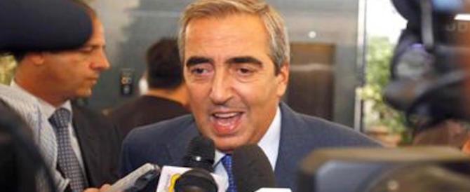 Gasparri: «Di Maio è il candidato del nulla. Continua a dire colossali bugie»