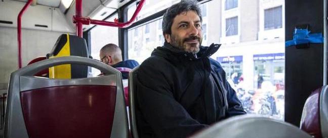 """Fico """"torna"""" sull'autobus: """"L'ho preso al volo, non sapevo del fotografo…"""""""