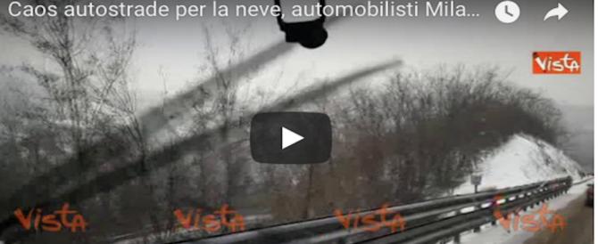 L'ultima minaccia, la pioggia gelata: trasporti e collegamenti a rischio (video)