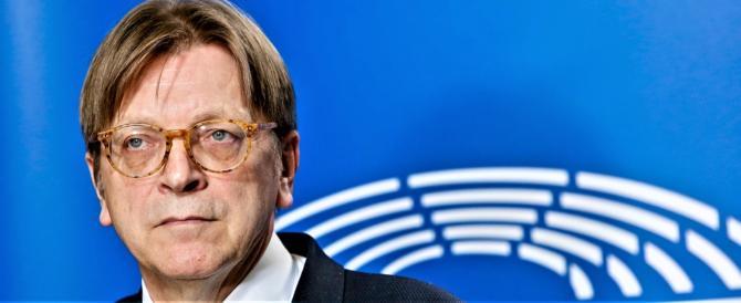 Lo ha capito pure Verhofstadt: le elezioni italiane dicono che la Ue va ripensata