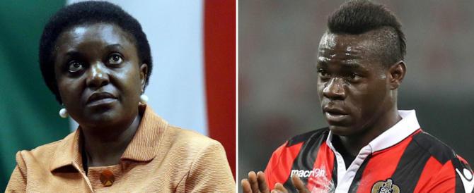 La Kyenge e Balotelli: due cuori, una capanna. Uniti nella lotta a Iwobi