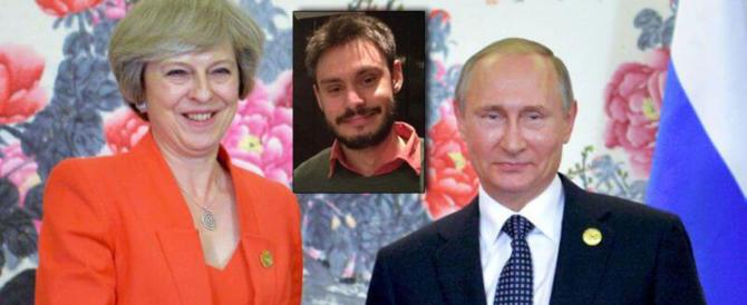 Stranezze inglesi, in 24 ore accusano Putin. Ma da 2 anni silenzio su Regeni