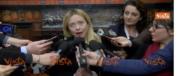 Meloni: «Obiettivo raggiunto: ora al lavoro con il centrodestra compatto» (video)