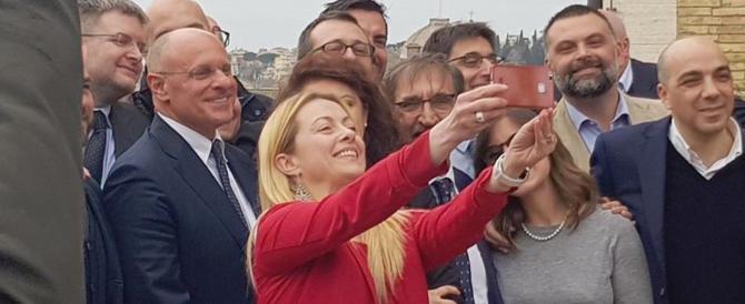 Meloni: «Per un governo Salvini i numeri non sono impossibili»