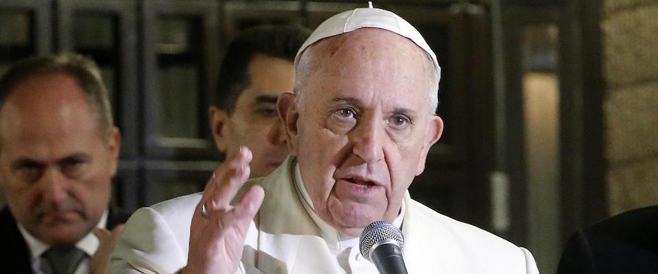 Il grido del Papa: «Cristiani a rischio di cancellazione in Medio Oriente»