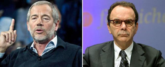 Bertolaso e Parisi ad Amatrice: «Un disastro, in 20 mesi non è stato fatto nulla»