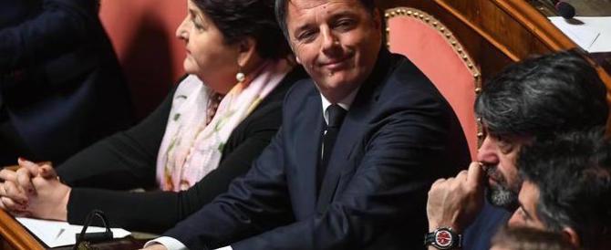 E Renzi mastica amaro: «Ha vinto l'unico schema possibile, tocca a loro»