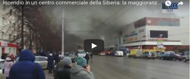 Rogo in Siberia, le vittime salgono a 64, la maggior parte bimbi (video)
