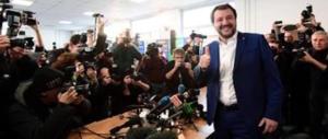 Salvini: «Al governo con gli alleati di centrodestra. Io mantengo gli impegni»