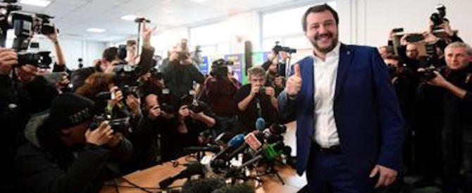Salvini: «Basta retroscena, gioco nel centrodestra. Mai con Renzi e la Boschi»